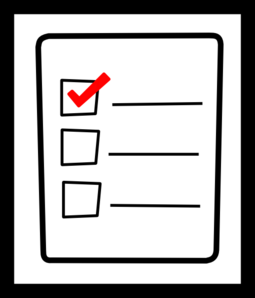 Checklists clipart free download clip art on png 5