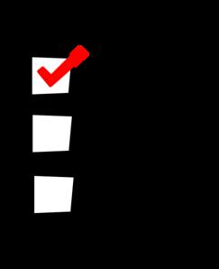 Checklist clip art at vector clip art png