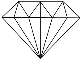 Simple diamond drawing google search pinteres png