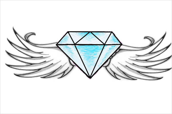 9 diamond drawings download jpg