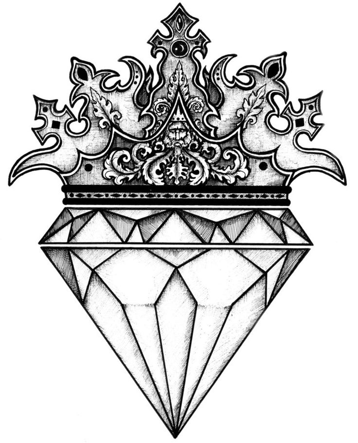 The diamond drawing ideas on tattoos jpg 2