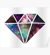 Cool diamond drawing posters redbubble jpg