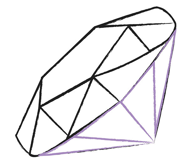 diamond drawing How to draw a diamond free download clip art jpg 2