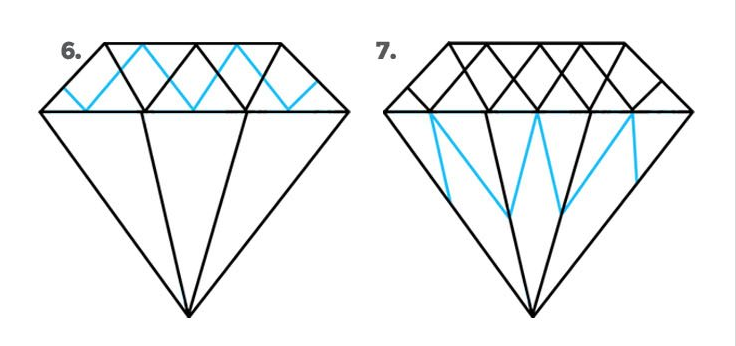 Diamond drawing easy to make it picture benjamin dennis png 2