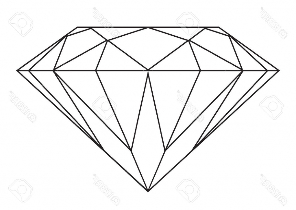 Simple diamond drawing art gallery jpg