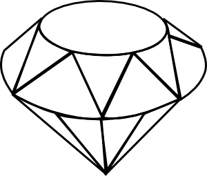 diamond drawing Diamond clip art at vector clip art png 2