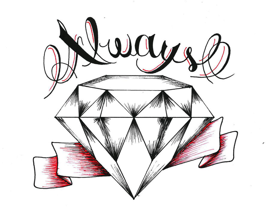 diamond drawing How to draw a diamond free download clip art jpg 4