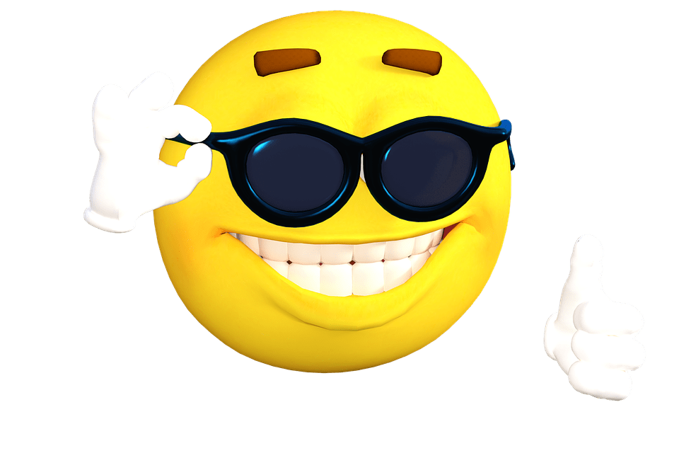 Cool holidays emoji transparent stick png