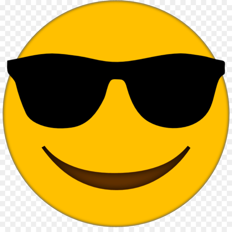 emoji transparent Emoji sunglasses transparent image jpg