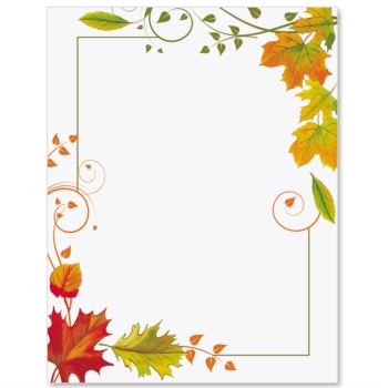 Fall border fall freshness papers cards paper and jpg