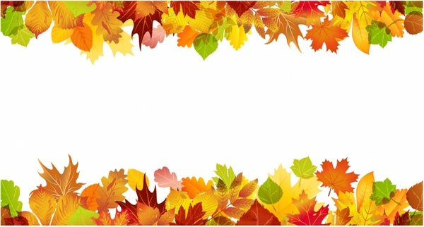 Fall border free vector in adobe illustrator ai ai jpg