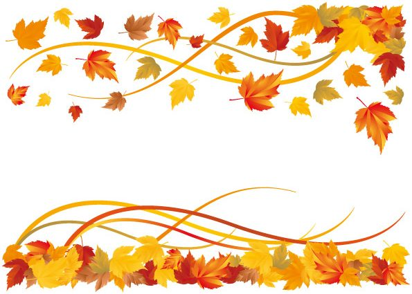 fall border Autumn leaf borders free fall download clip art jpg