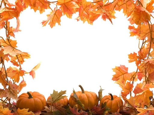 Fall border free printable clip art borders thanksgiving jpg