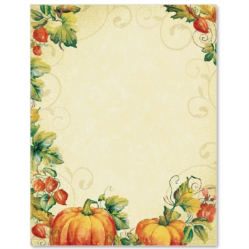 fall border Pumpkin border pumpkin spice paper autumn borders pumpkins jpg