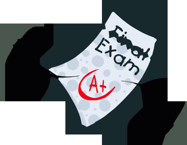 final exam School examination clipart jpg