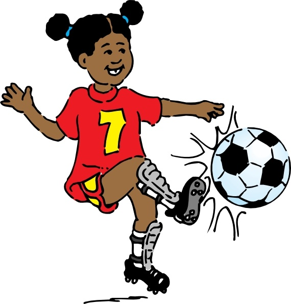 girls playing Girl playing soccer clip art free vector in open office drawing jpg