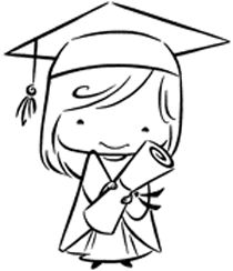graduation drawings Baby dedication clipart free download jpg