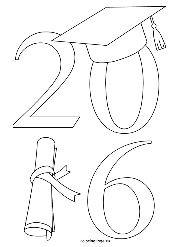 graduation drawings Graduation coloring pages jpg