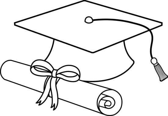 graduation drawings Graduation hat drawing free download clip art png