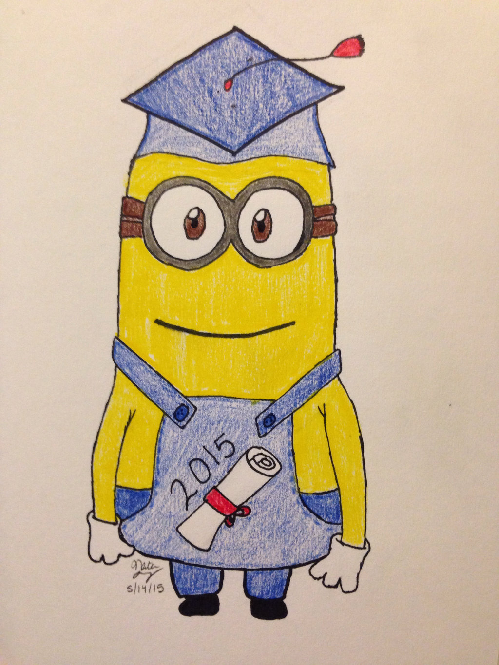 graduation drawings Graduation minion by nlope on deviantart jpg
