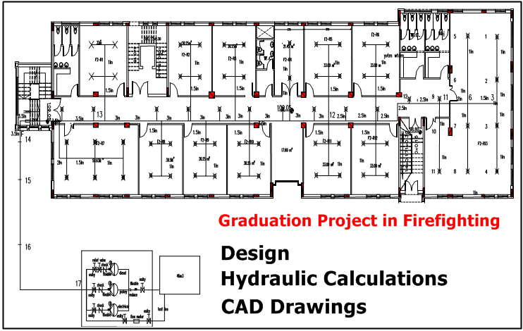 graduation drawings Graduation project in firefighting drawings  PNG