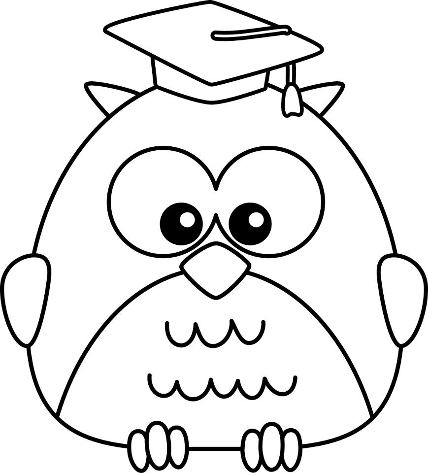 graduation drawings Graduation cap coloring page many interesting cliparts jpg