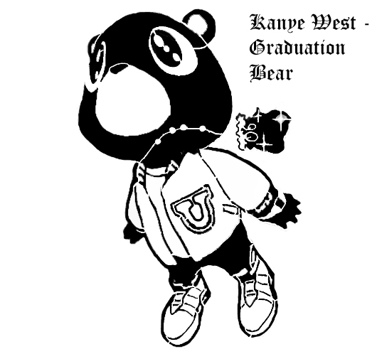 graduation drawings Kanye west graduation by trashthemetronome on deviantart jpg