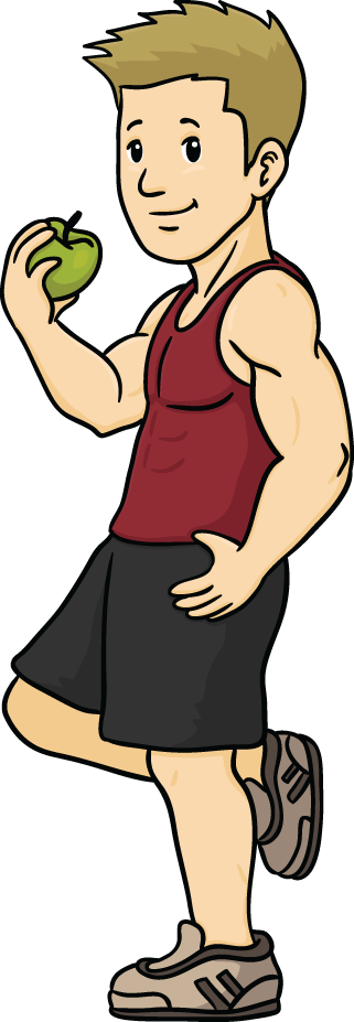 healthy people Healthy person cartoon collection png