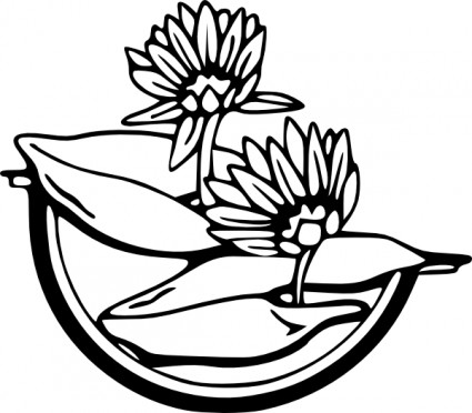 Water lily clip art download jpg