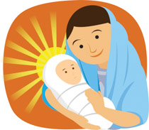 Search results for virgin mary christ christian clip art jpg