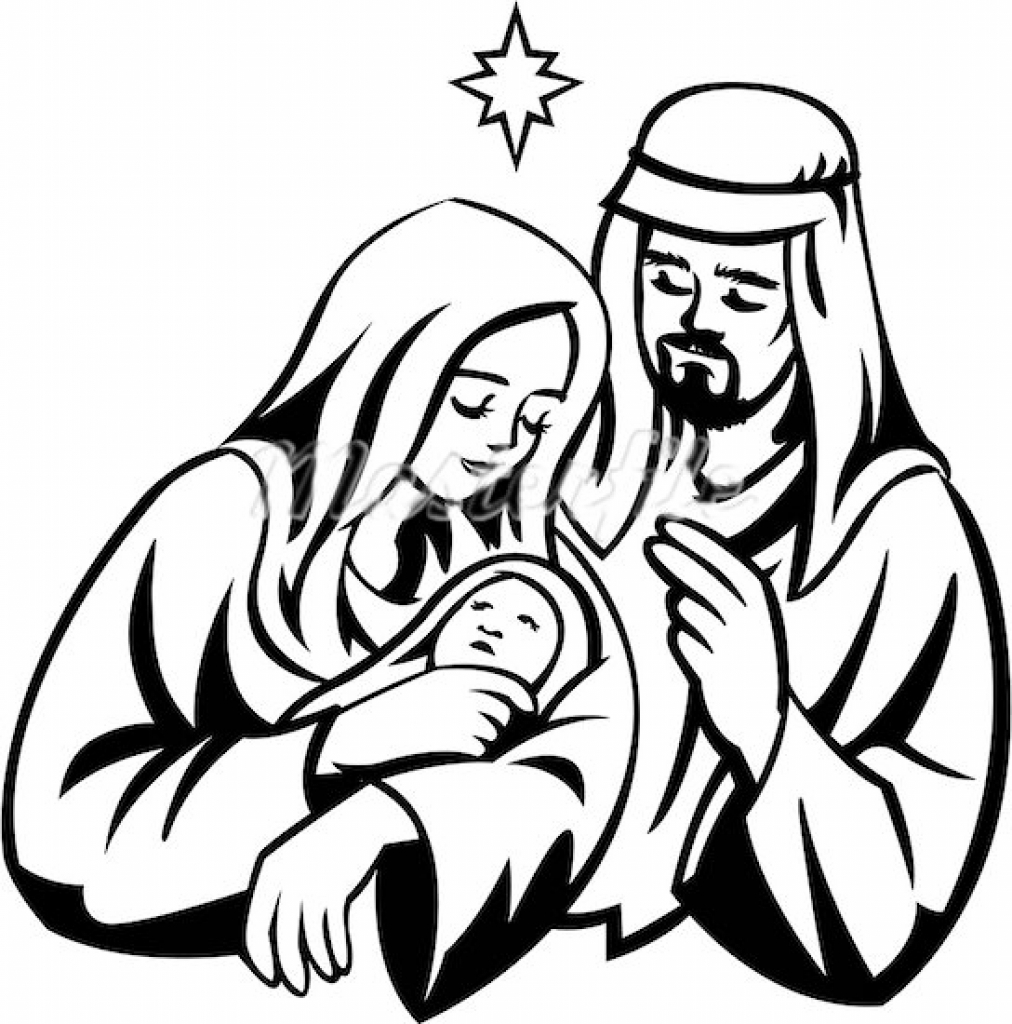 Mary and joseph clipart collection jpg
