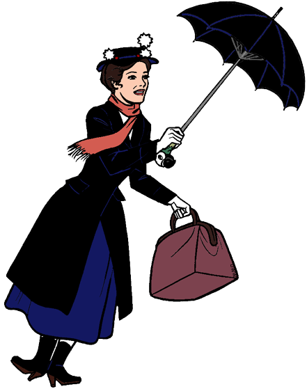 Disney clipart mary poppins pencil and in color disney png