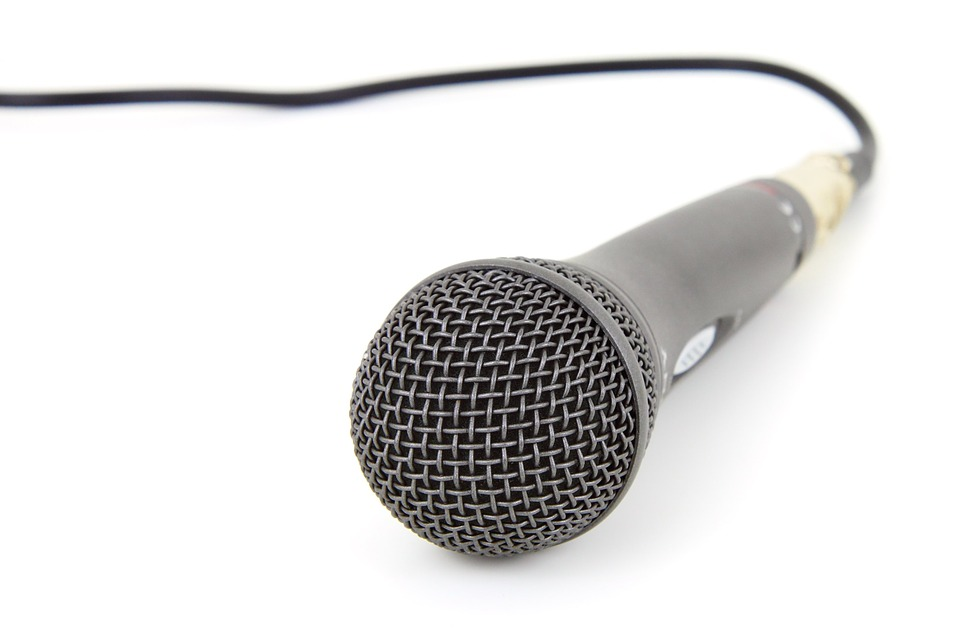 microphone transparent Free photo transparent no background mic microphone golden max pixel jpg