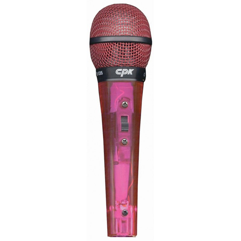 microphone transparent Cpk undirectional pink transparent microphone microphones jpg