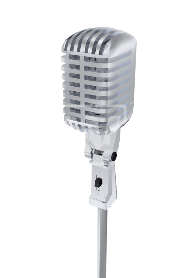 microphone transparent Old fashioned mic welcomia imagery stock png