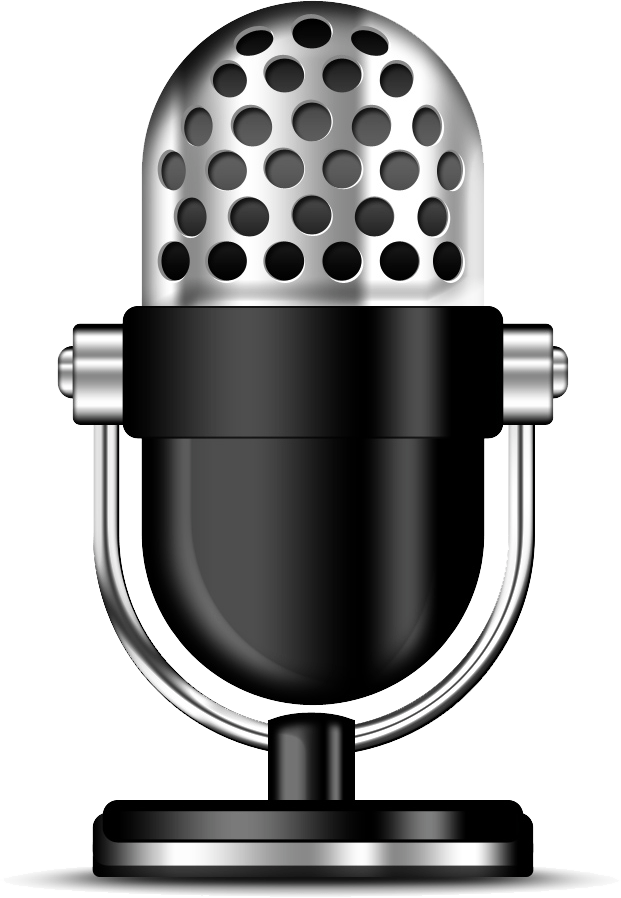 Podcast clipart microphone transparent stick png 2