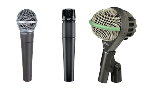 microphone transparent Types of microphone png