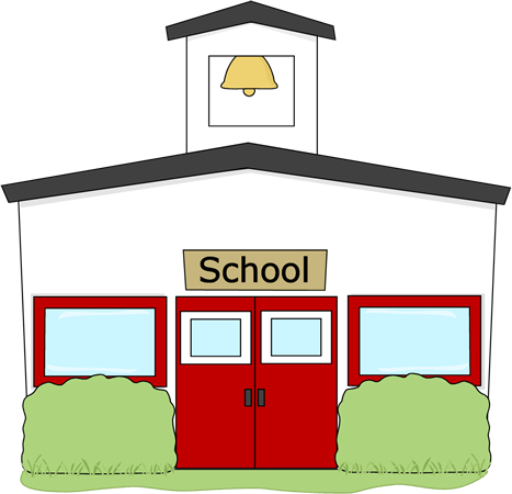 no school Schoolhouse school house rock clip art free clipart images 2 png