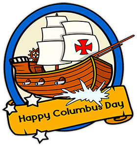 No school columbus day clipart clipground jpg