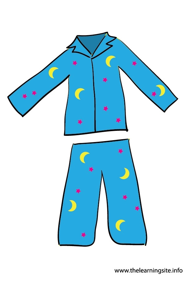 Boy putting on pajamas clipart letters jpg
