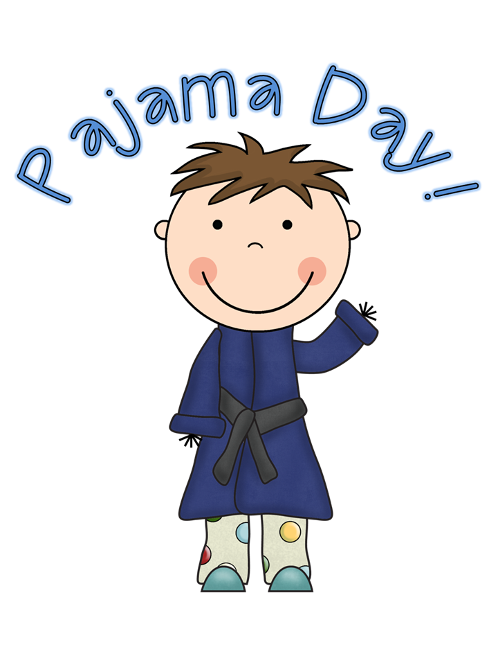 Pajama day at work clipart jpg
