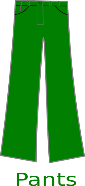 Green pants clip art at vector clip art png