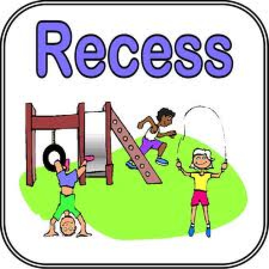 Kids playing at recess clipart jpg