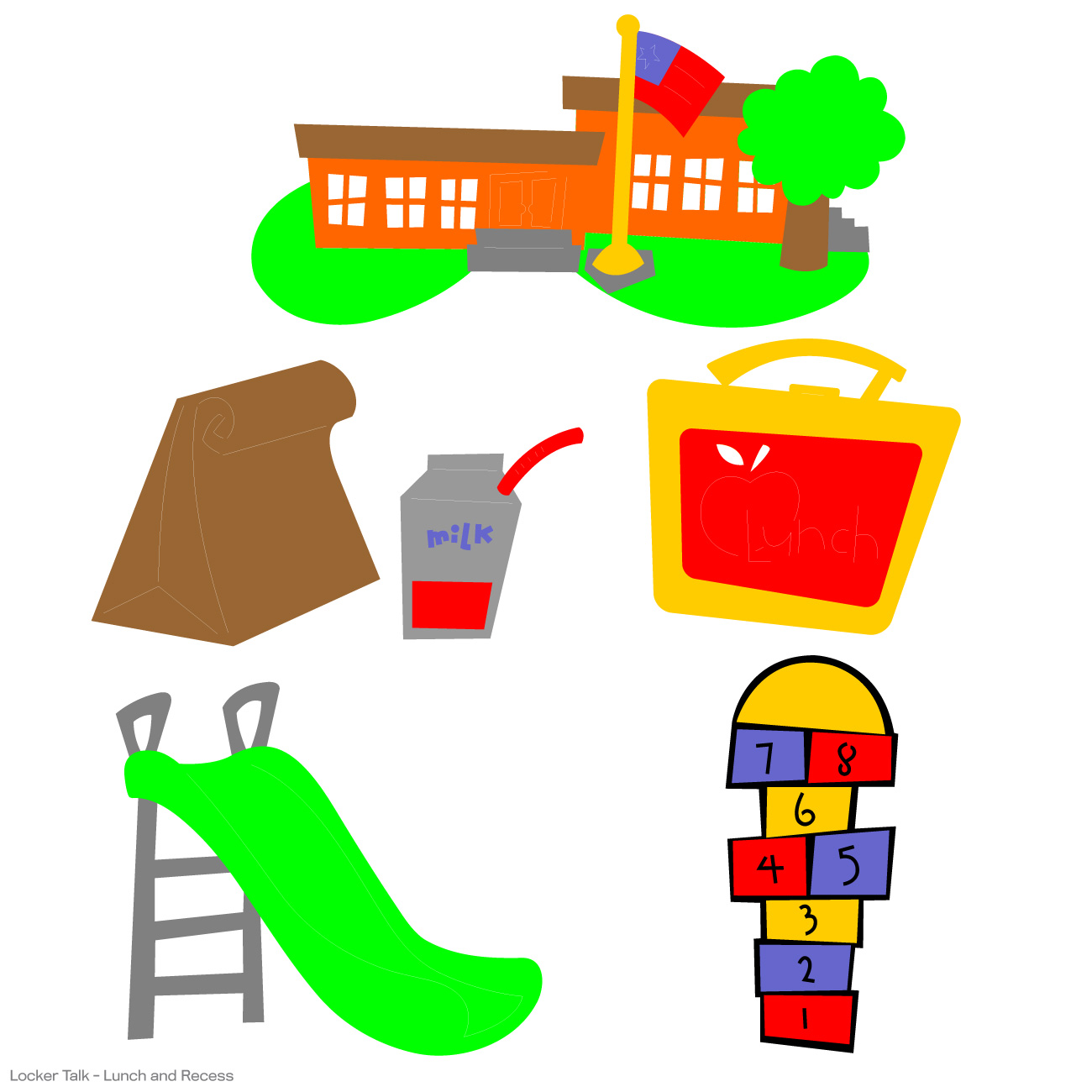 Lunch and recess clipart clipground jpg