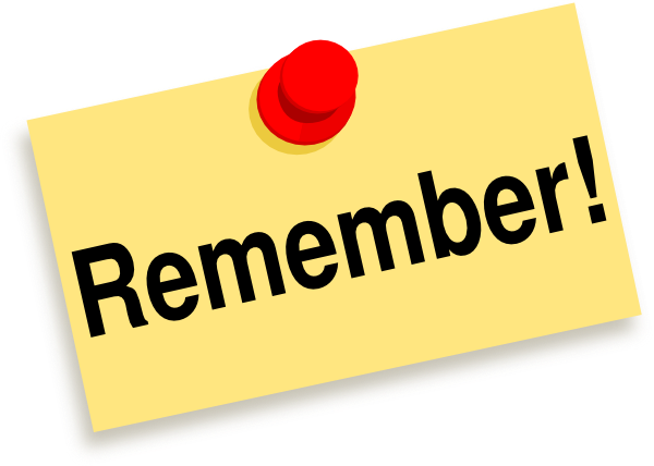 Remember clipart free download clip art on png