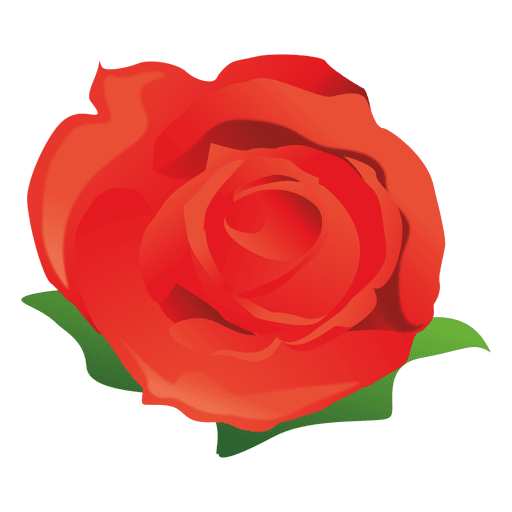 Red rose cartoon transparent  png