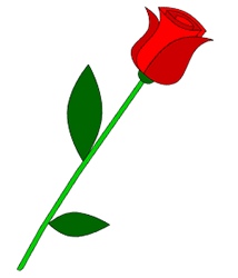rose cartoon How to draw a rose png