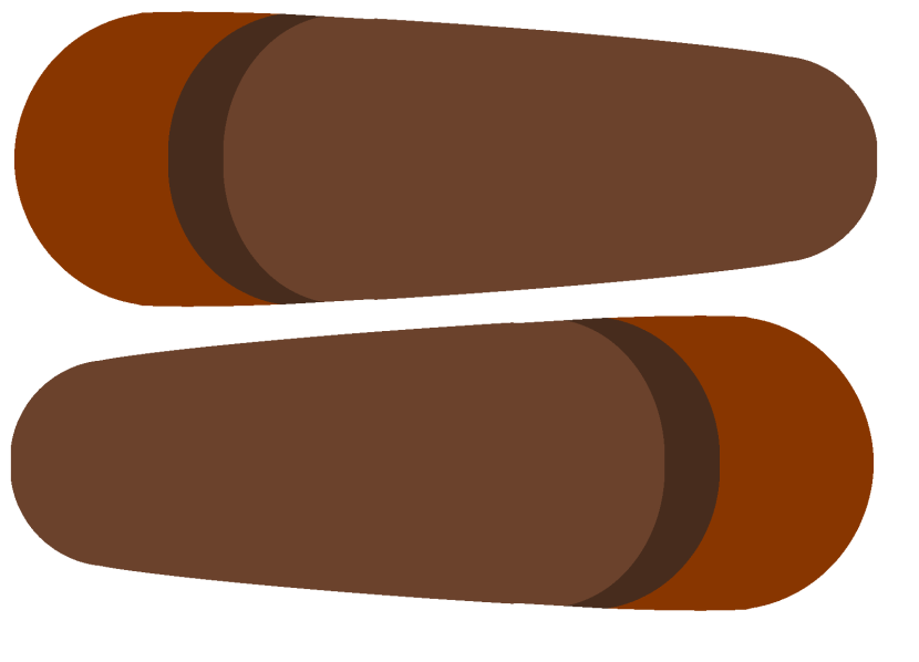 Turkey feather clip art png 2