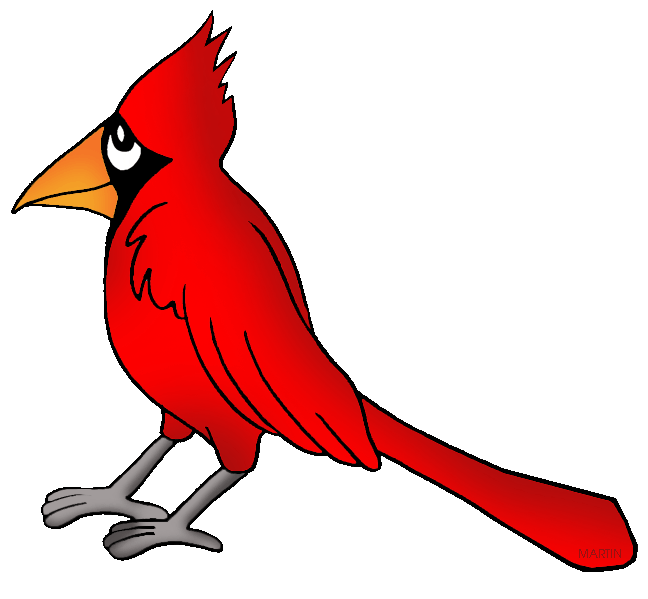 United states clip art by phillip martin virginia state bird png