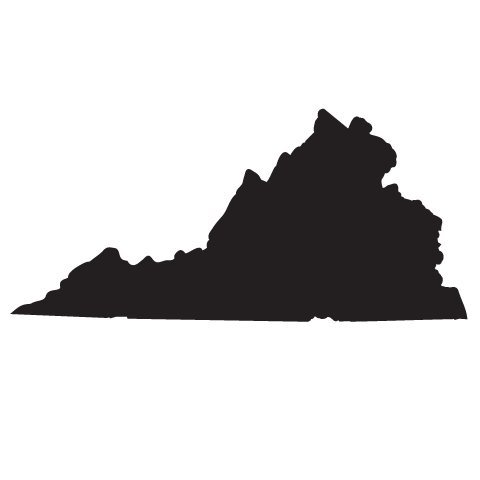 State of virginia clipart jpg